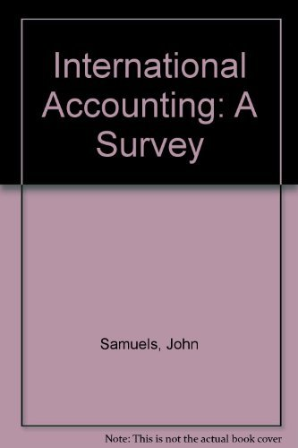 9780312419455: International Accounting: A Survey