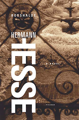 Rosshalde : A Novel: Hermann Hesse