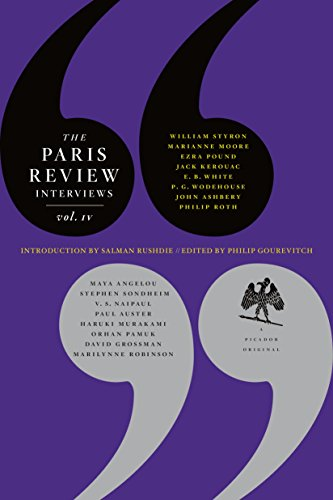 The Paris Review Interviews, IV (0312427441) by The Paris Review