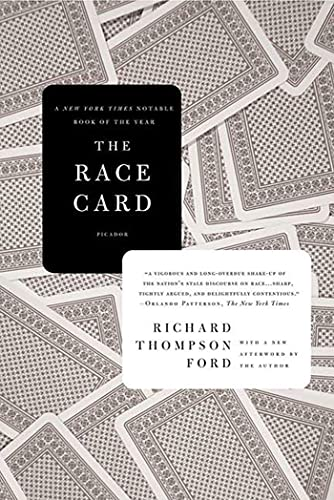 9780312428266: The Race Card: How Bluffing About Bias Makes Race Relations Worse