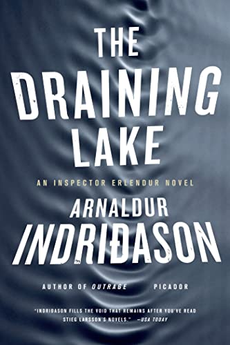 9780312428587: The Draining Lake: An Inspector Erlendur Novel (An Inspector Erlendur Series)