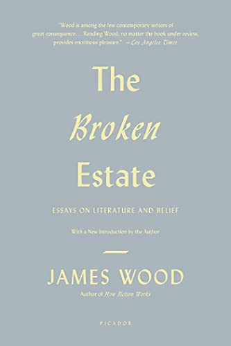 9780312429560: The Broken Estate: Essays on Literature and Belief