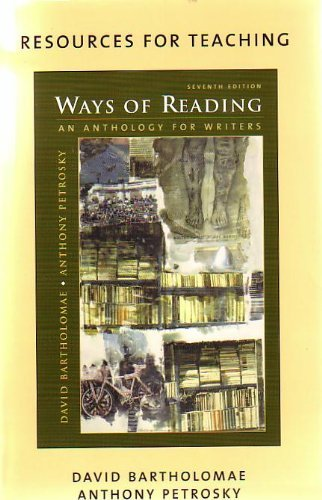 9780312430672: Ways of Reading 7th + Rules for Writers 5th