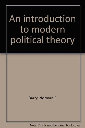 9780312430986: An introduction to modern political theory