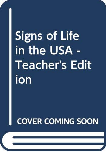 Signs of Life in the USA - Teacher's Edition: Maasik, Sonia