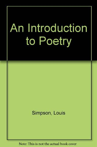 9780312431556: An Introduction to Poetry