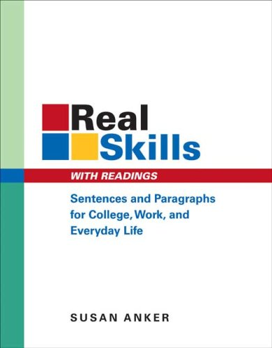 9780312432843: Real Skills with Readings: Sentences and Paragraphs for College, Work, and Everyday Life
