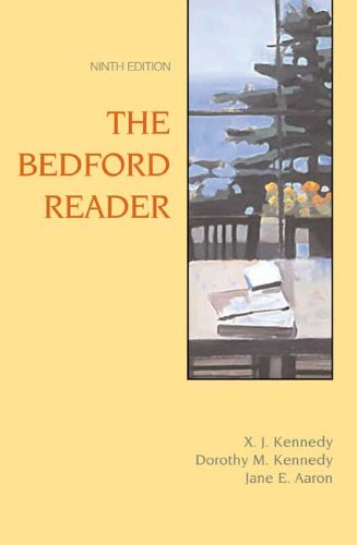 9780312433178: The Bedford Reader, Ninth Edition