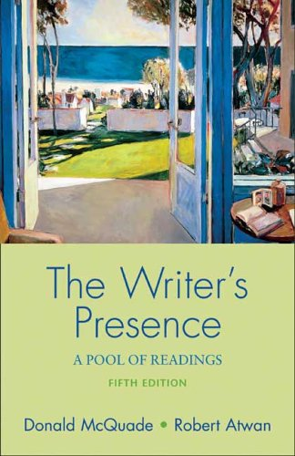 9780312433864: The Writer's Presence: A Pool of Readings