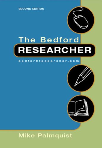9780312433925: The Bedford Researcher