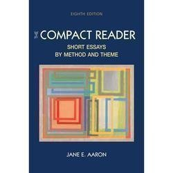 9780312434229: The Compact Reader: Short Essays By Method and Theme Instructor's Edition