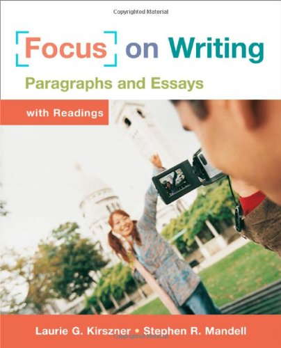 9780312434236: Focus on Writing: Paragraphs and Essays