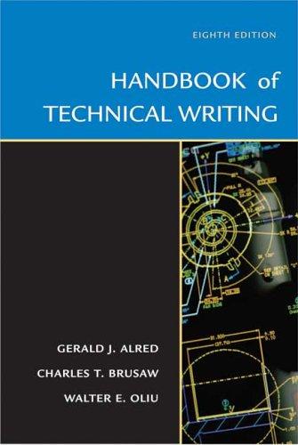 9780312436131: Handbook of Technical Writing