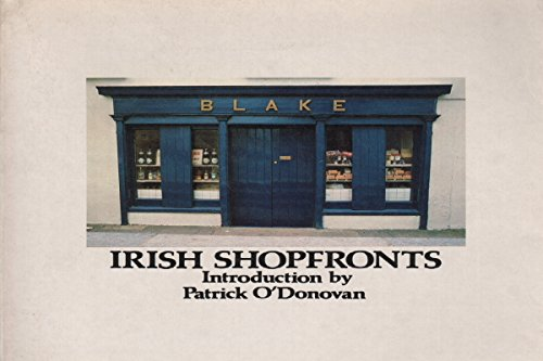 9780312436230: Irish shopfronts
