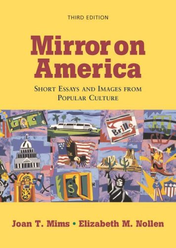 Mirror on America: Short Essays and Images: Mims, Joan T.;