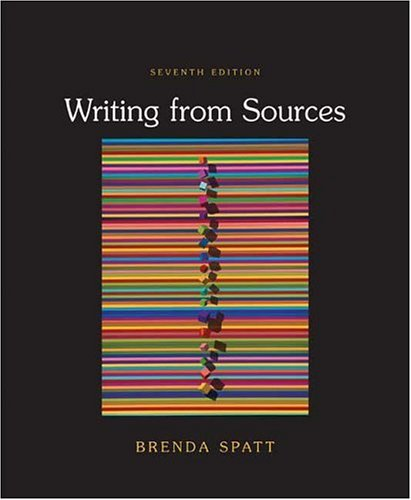 9780312437978: Writing from Sources