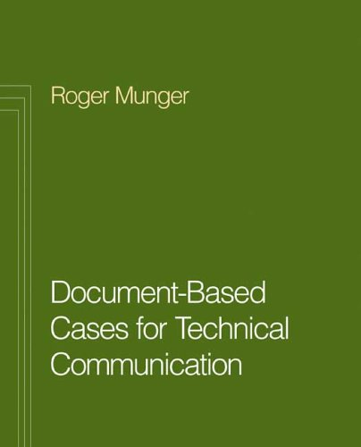 9780312438517: Document Based Cases for Technical Communication