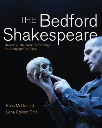 The Bedford Shakespeare (0312439636) by McDonald, Russ; Orlin, Lena Cowen