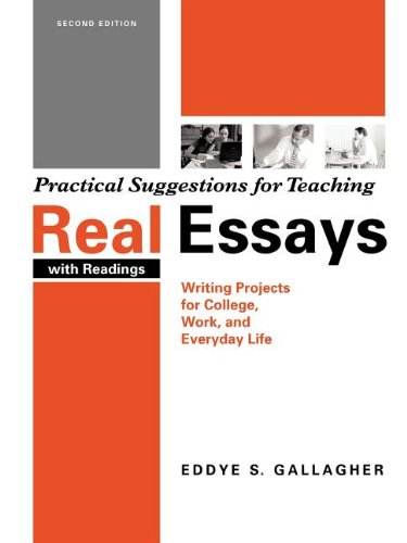 real essay writing project for college work and everyday life Interested in real essays with reading writing projects for college, work, and everyday life chapter 22 bookmark it to view later bookmark real essays with reading writing projects for college, work, and everyday life chapter 22.