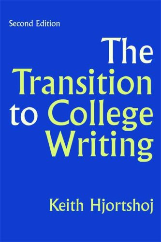 9780312440824: The Transition to College Writing