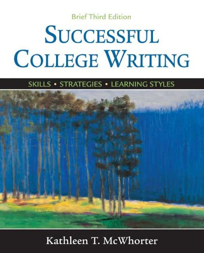 9780312441319: Successful College Writing Brief: Skills, Strategies, Learning Styles