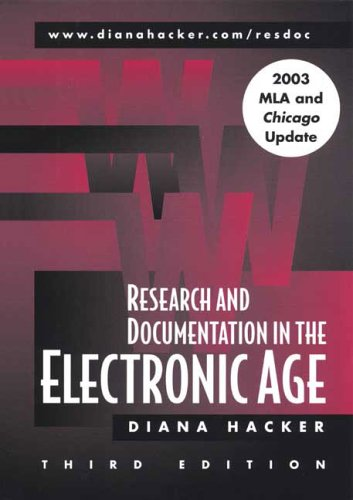 9780312442385: Research and Documentation in the Electronic Age: with 2003 MLA and Chicago Update