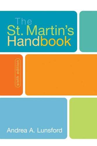 9780312443177: The St. Martin's Handbook