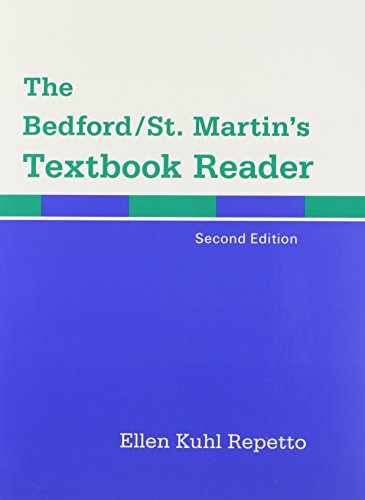 9780312444358: The Bedford/St. Martin's Textbook Reader