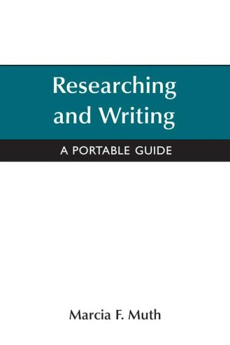 9780312444426: Researching and Writing : A Portable Guide
