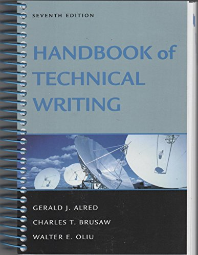 9780312444716: Handbook of Technical Writing 7e and Document Based Cases