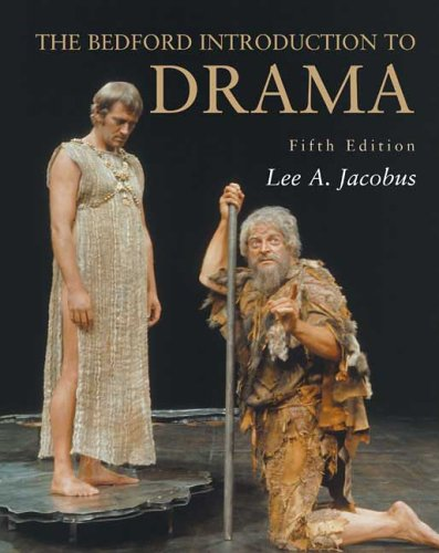 9780312445768: The Bedford Introduction to Drama