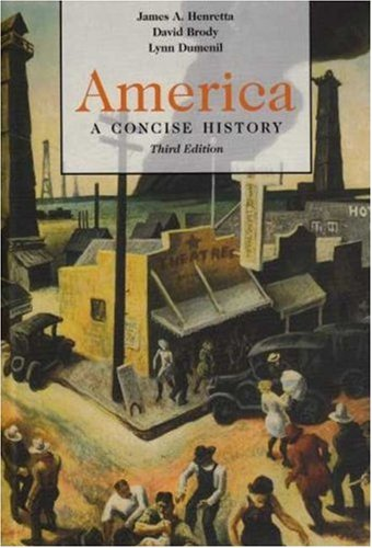 9780312445874: America: A Concise History, Combination