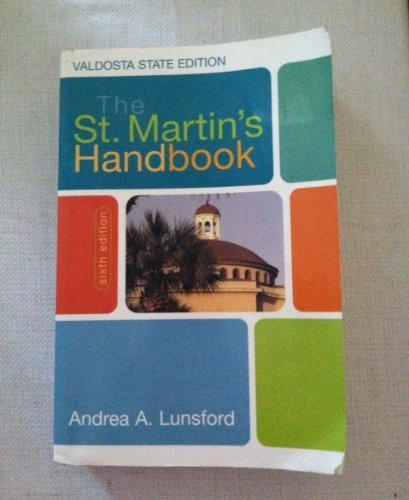 The St. Martin's Handbook (Custom Edition for: Andrea A. Lunsford