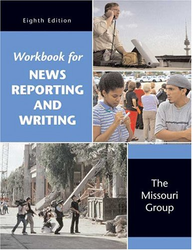 9780312449018: Workbook for News Reporting and Writing