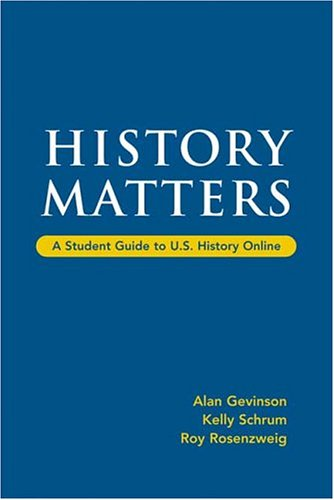 9780312450007: History Matters: A Student Guide to U.S. History Online