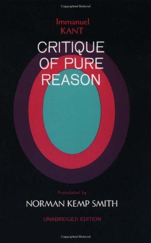 9780312450106: Critique of Pure Reason