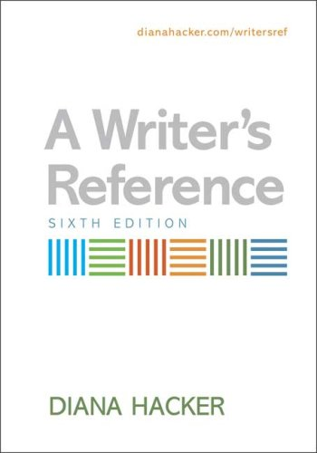 9780312450250: A Writer's Reference