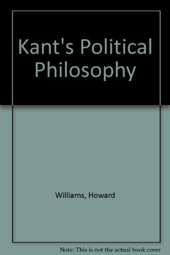 9780312450687: Kant's Political Philosophy