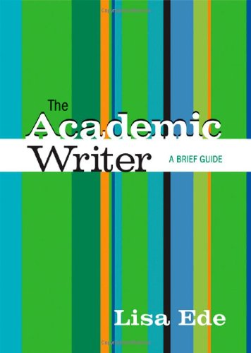 9780312451929: The Academic Writer: A Brief Guide