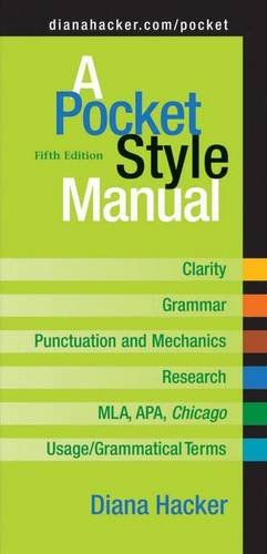 9780312452759: A Pocket Style Manual