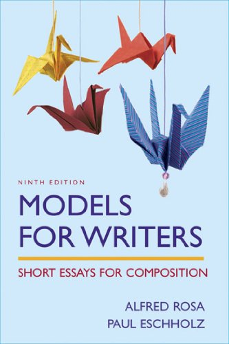 9780312454043: Models For Writers-High School