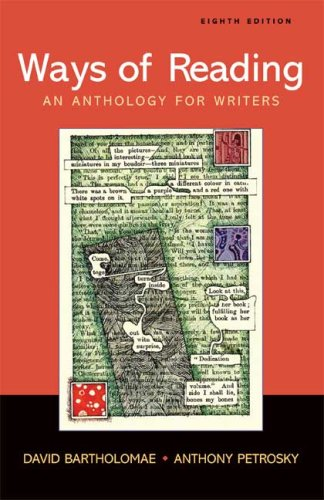9780312454135: Ways of Reading: An Anthology for Writers