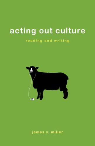 9780312454166: Acting Out Culture: Reading and Writing
