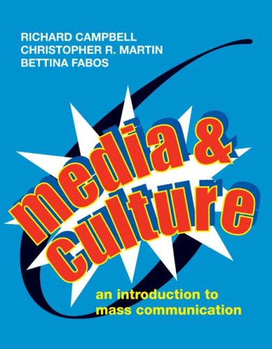 9780312455866: Media and Culture: An Introduction to Mass Communication