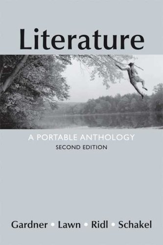 Literature: A Portable Anthology: Gardner, Janet E.;