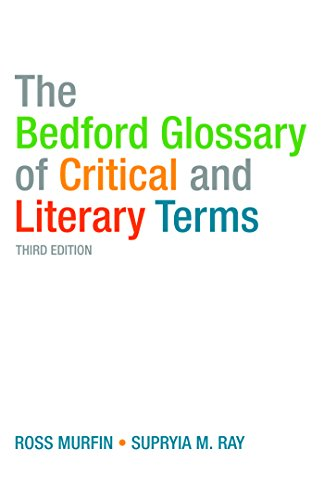 9780312461881: The Bedford Glossary of Critical and Literary Terms