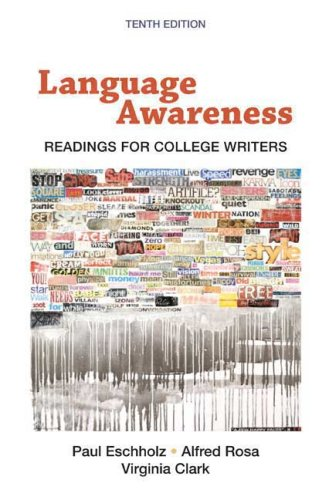 9780312463168: Language Awareness: Readings for College Writers, 10th Edition