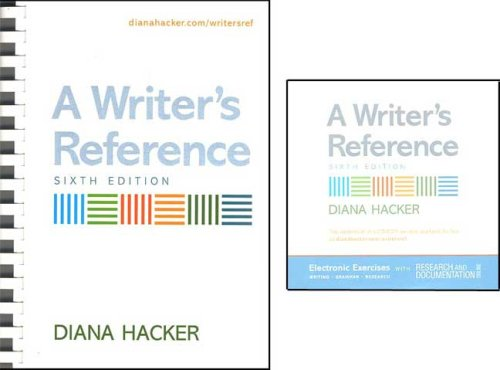 9780312463946: Writer's Reference 6e & Electronic Exercises