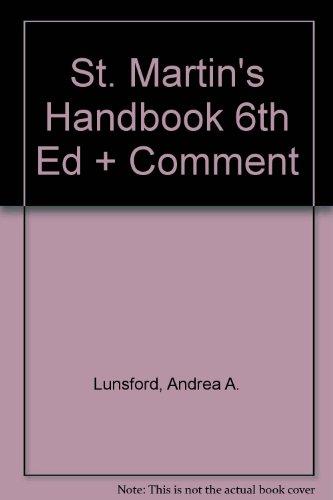 St. Martin's Handbook 6e paper & Comment: Andrea A. Lunsford,