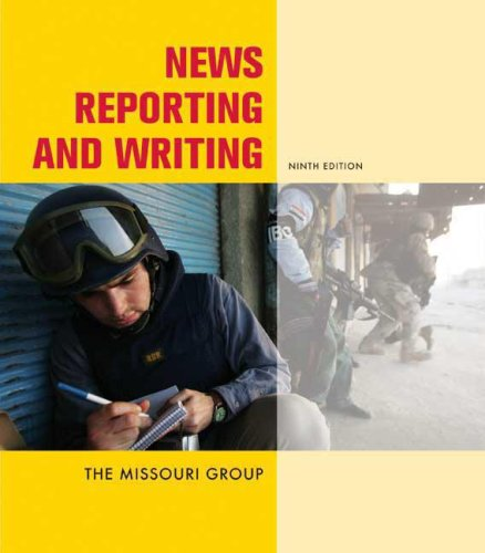 9780312464196: News Reporting and Writing